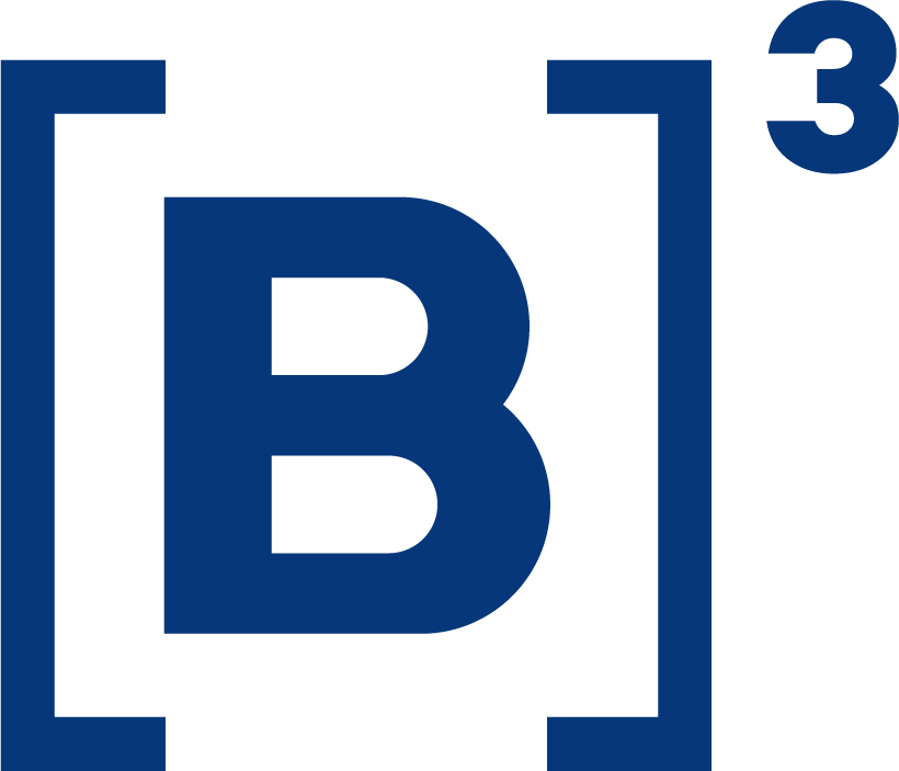 Brasil Stock Exchange (B3) Icon Logo